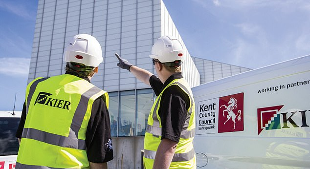 MARKET REPORT: Shares in construction group Kier plunge by 18% as it finds another £50m worth of debt