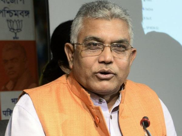 Infiltration, security key issues, says Bengal BJP chief Dilip Ghosh