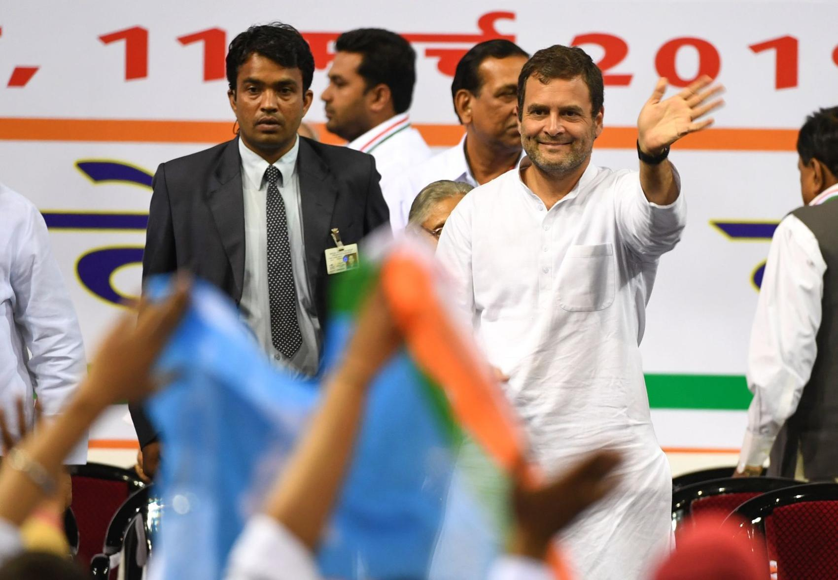 Congress Party Launches Lok Sabha Election Campaign from Opposition Modi's Home Turf