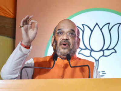 Naxalism flourishes whenever Congress comes to power: Amit Shah