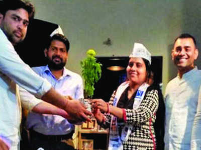Election Commission disqualifies AAP candidate