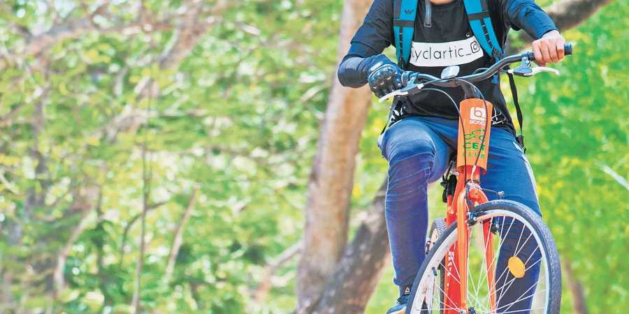 Smart and moving, says Muhamed Musadhiq, after 504 km-long cycle journey
