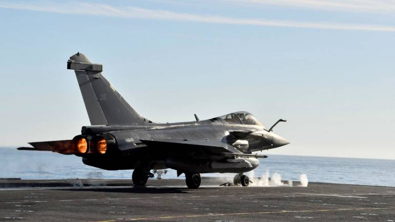India says French-made Rafale jets to be inducted in September 2019