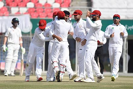 Afghanistan's Solid Display Against Ireland In Test Match