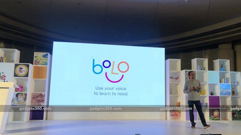 Google Bolo Speech-Based Reading-Tutor App Launched in India, Now Available for Android