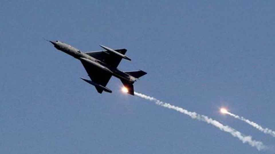 Close to 50 fighters take part in IAF exercise