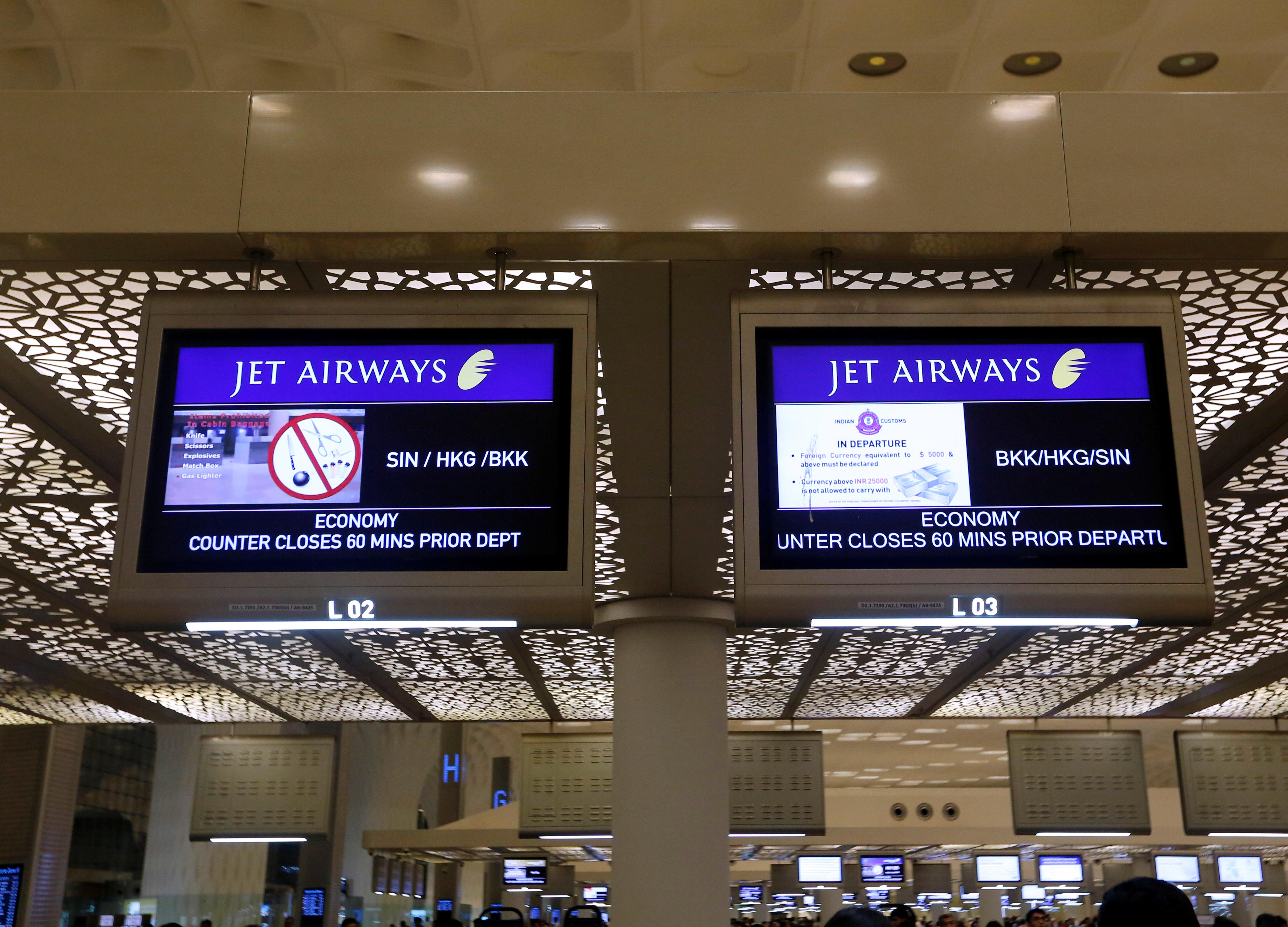 Passengers rage over disruptions at India's embattled Jet Airways