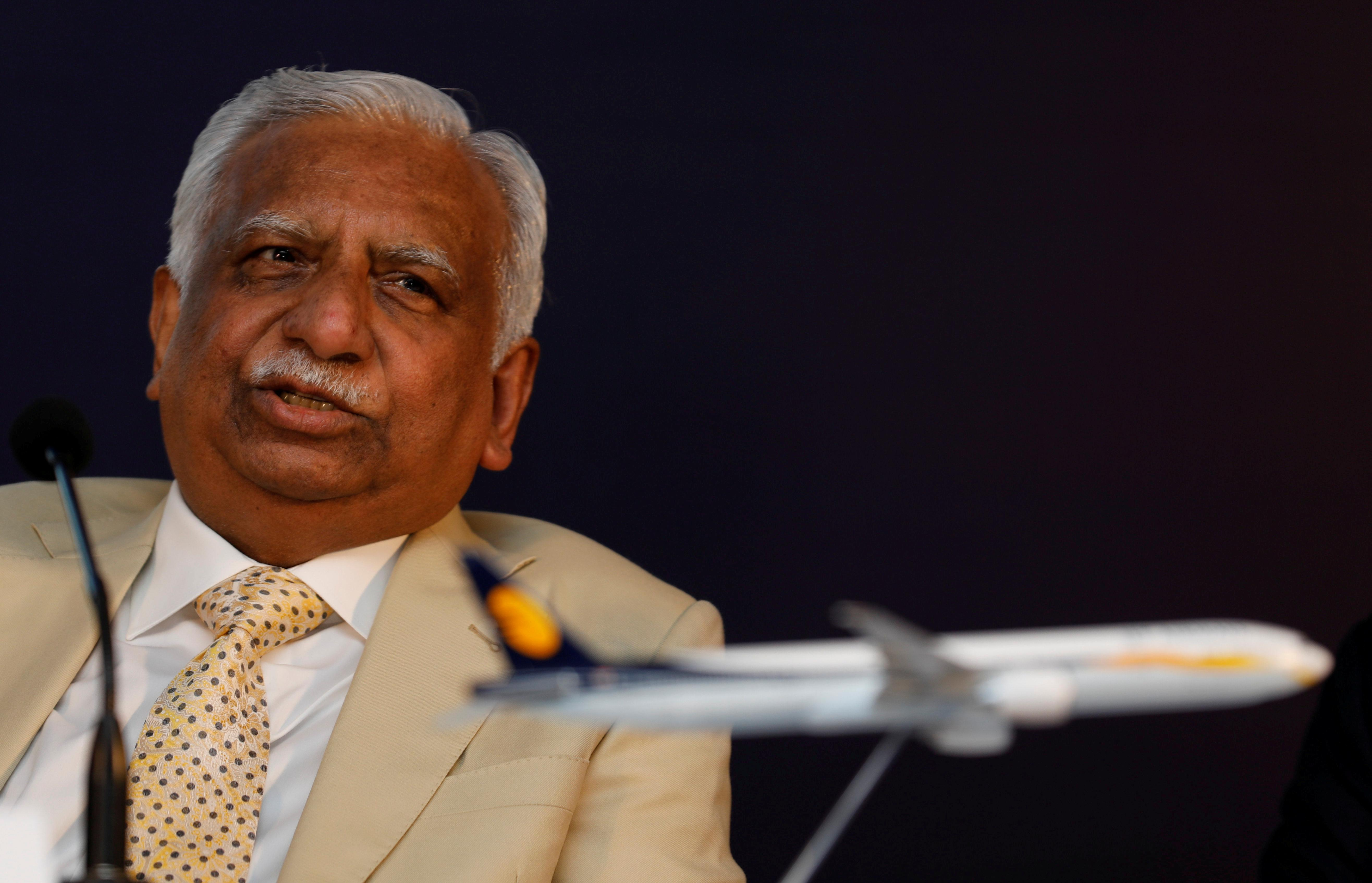 India state banks want Jet Airways' Goyal to reduce stake to 10 percent: CNBC-TV18