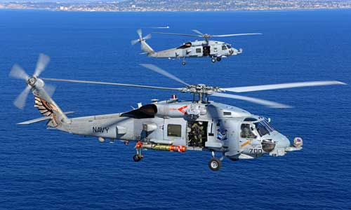 Mh-60R Seahawk Helicopters For The Indian Navy