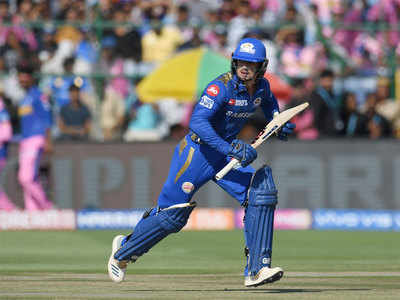 RR vs MI Live Score, IPL 2019: Mumbai Indians post 161/5 against Rajasthan Royals in Jaipur