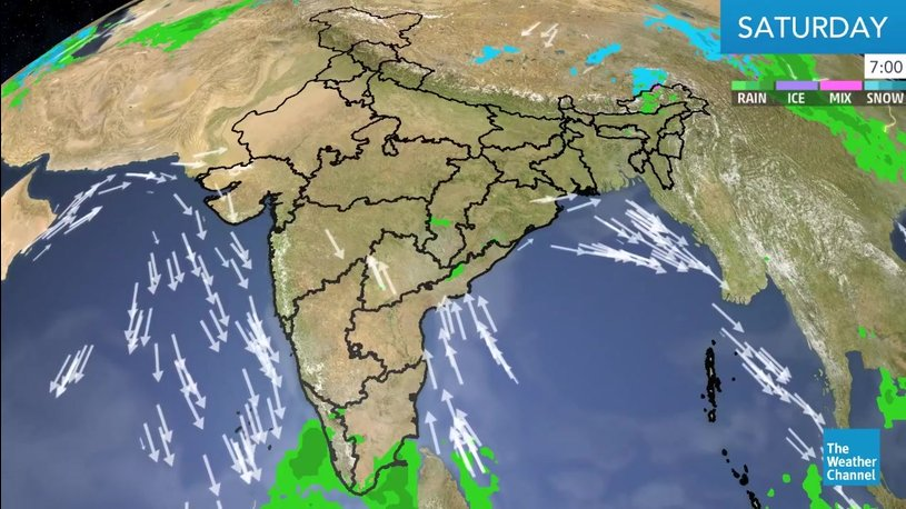 Rain and Thunderstorm Continue in North, South and Northeast India