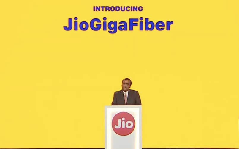 Reliance JioGigaFiber to launch in 1,600 cities, Reliance Jio concludes testing