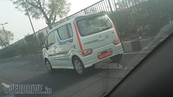 All-Electric Maruti Suzuki WagonR spotted on test in India - launch soon?