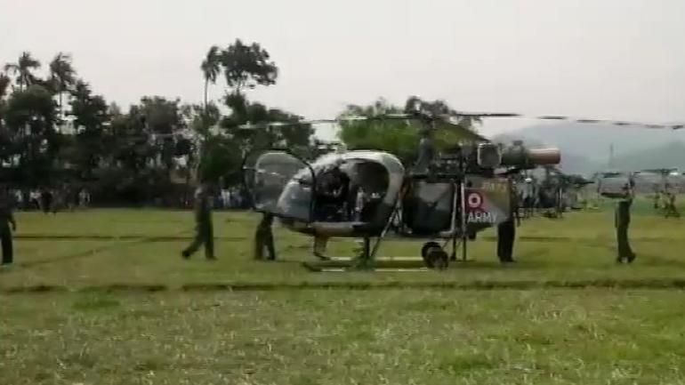 Indian Army's chopper makes emergency landing in Assam