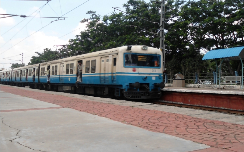 Cancellation of MMTS Trains due to Traffic Block