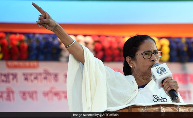 "Mamata Banerjee's ""Quit India"" Parallel For Battle Against PM Modi"