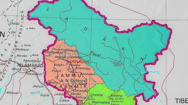 PoK in UT of Jammu and Kashmir, Gilgit-Baltistan in Ladakh in new map of India