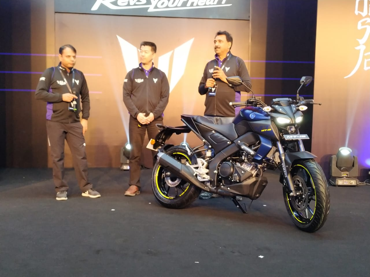 Live updates: 2019 Yamaha MT-15 launch in India