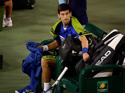 Ailing Zverev toppled, Djokovic rained out at Indian Wells