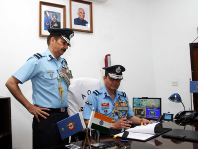 Air Commodore Pathania takes over chief of IAF station Jammu