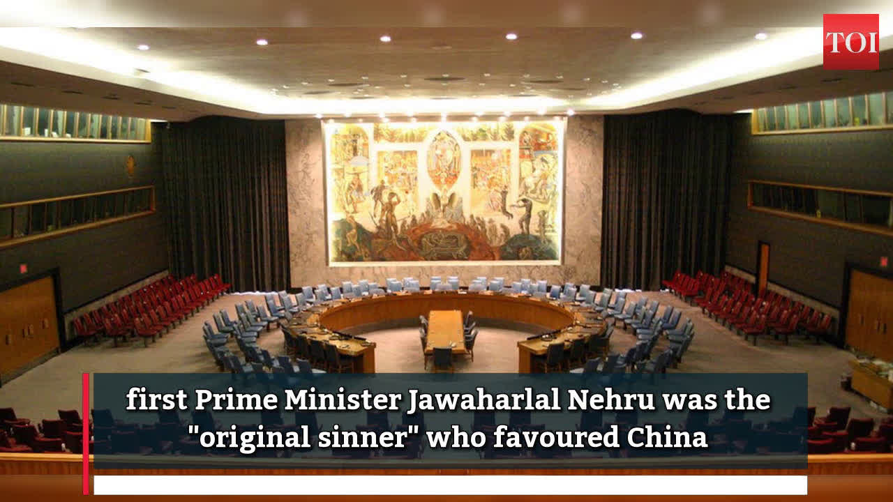 Nehru the 'original sinner', he only favoured China over India for UNSC seat: Arun Jaitley