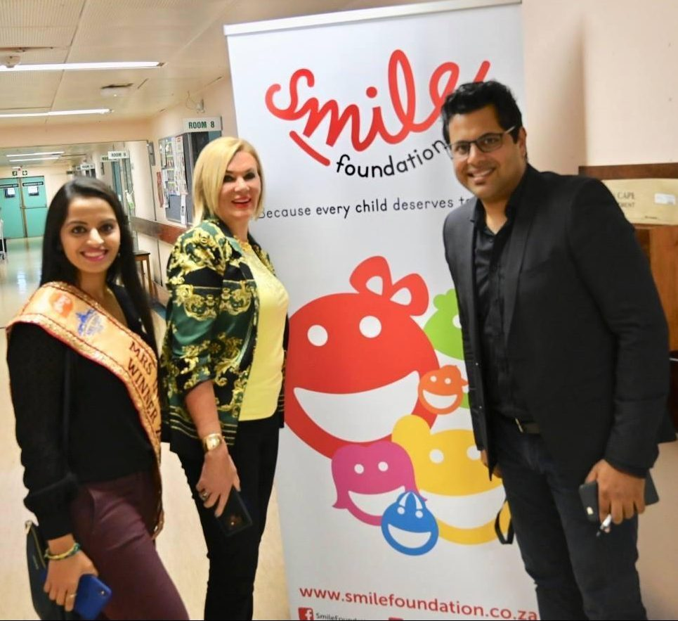 Mrs India South Africa 2018 Teams up with The Smile Foundation and Margaret Hirsch to Give Back