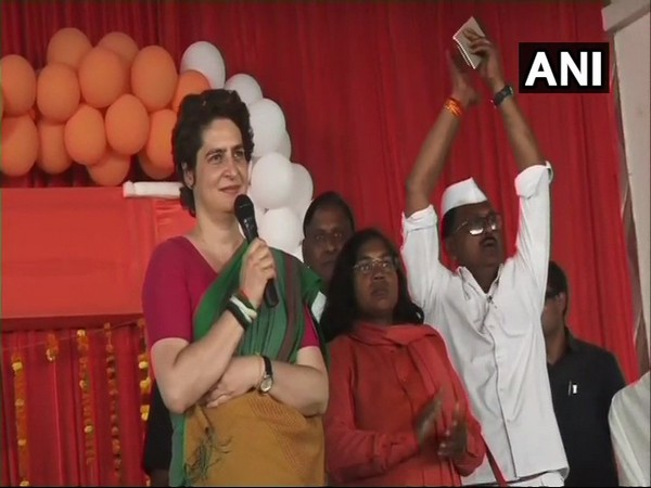 I've come out of home as Constitution and country are in danger: Priyanka Gandhi