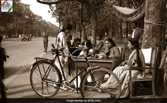 Blast From The Past: India's First General Election. See Pics