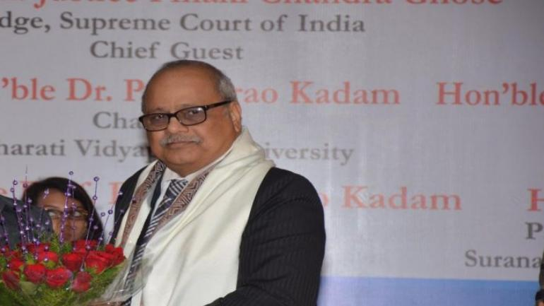 Justice Pinaki Chandra Ghose appointed first Lokpal of India