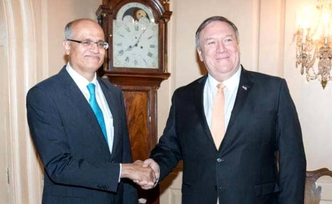 """India, US Ask Pak For """"Concerted Action"""" To Dismantle Terror Groups"""