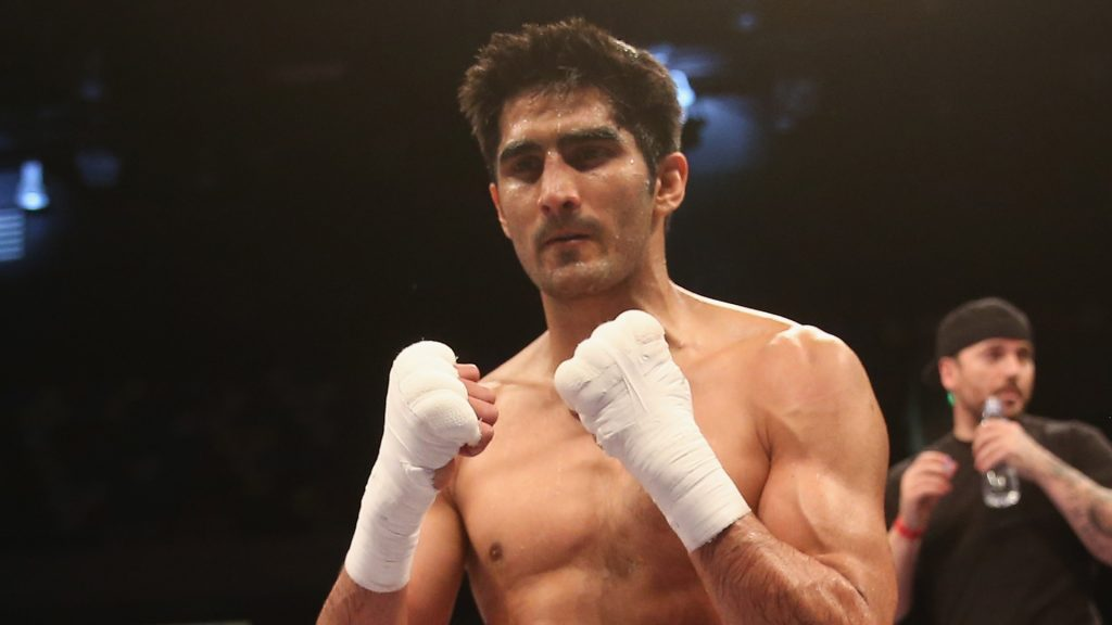 Vijender Singh dreams of becoming India's first boxing world champion